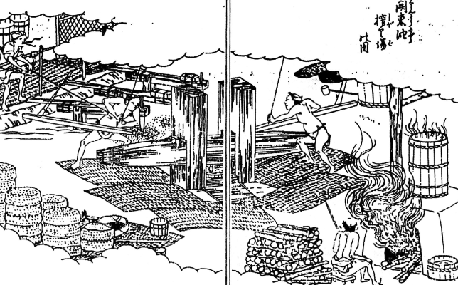 江戸時代から続く伝統の玉締め絞り